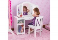 KidKraft Deluxe Make-Up laud ja tool
