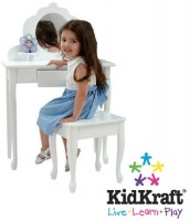 KidKraft make-up laud ja tool
