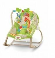 Fisher Price kaasaskantav lamamistool-kiik Rainforest Friends