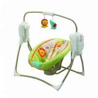 Fisher Price ruumisäästev kiik ja häll Rainforest Friends
