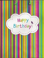 Kinkekott Happy Birthday