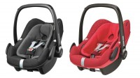 Maxi-Cosi turvahäll Pebble Plus Black Diamond võ iVivid Red