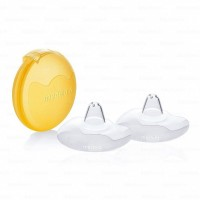 Medela rinnanibukaitsmed Contact  S/16 mm + karp
