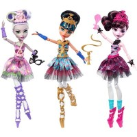 Monster High baleriini nukk