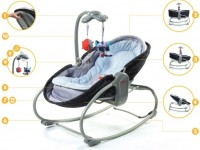 TinyLove lamamistool-voodi Rocker Napper 3in1 Luxe
